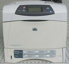 HP LaserJet 4250 A4 Mono B/W 1200 x 1200 dpi 45 PPM Laser Printer Parallel USB