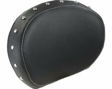 INDIAN 2014-2016 CHIEF CHIEFTAIN LEATHER DELUXE BACKREST PAD BLACK 2879666-02