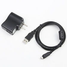 USB AC Adapter Charger Cord For Olympus Stylus Tough 3000 5010 8000 8010 Camera
