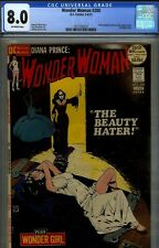 WONDER WOMAN #200- CGC 8.0- HIGRADE  JEFF JONES BONDAGE/GOTHIC CVR- 1972