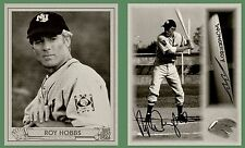 1940 Play Ball STYLE ROY HOBBS B&W AUTO PICTURE back ROOKIE