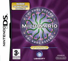 Chi vuol essere milionario? seconda edizione NINTENDO DS nuovo