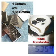 PLATINUM - Platin Pt - 999 Feinplatin -  46,75? pro Gramm - DEUTSCHE HERSTELLER