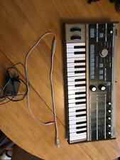 Korg Microkorg Keyboard Synthesizer lightly used w/ vocoder mic and power cord
