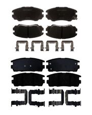 Front and Rear Ceramic Brake Pad Kit ACDelco for Chevy Equinox GMC Terrain 10-16