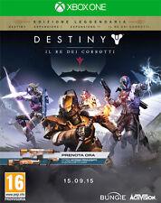 Destiny Il Re Dei Corrotti Edizione Leggendaria D1 Day One Edition XBOX ONE