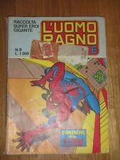 Italian ed L'UOMO RAGNO - SPIDER MAN Marvel Corno RACCOLTA SUPEREROI GIGANTE # 9