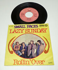 """SMALL FACE """"Lazy Sunday"""" german different PS re 7"""" 45 M-/VG+ Bellaphon"""