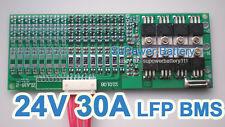 24V 25.6V 30A LiFePo4 Battery BMS LFP PCM SMT System 8S 3.2V eBike Battery 8x 3V