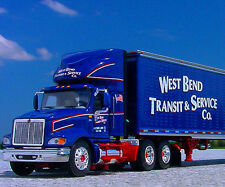 LAST DCP - West Bend Transit of WISCONSIN INTERNATIONAL 9100i Semi Truck - 30761