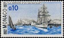 "MONACO N° 1103 ""ALBERT 1er NAVIGATEUR, RADE DE KIEL, 10 C""NEUF xxTTB"