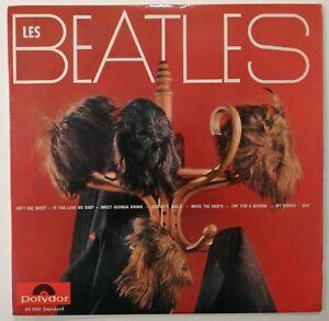 "Les Beatles / Les Perruques 33T Rare Orig French 10"" LP 25Cm 1964 Erreur Label"