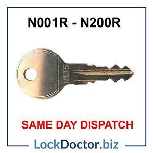 Thule HALFORDS Roof Box/ Roof Rack Keys to Code (N001R-N200R) SAME DAY DISPATCH