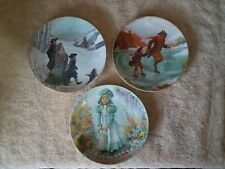 SET OF 3 COLLECTIBLE PLATES FROM 1978 & 1979   RECO & VILETTA