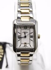 Authentic Rotary Unisex GB02651/01 Two-tone Silver Gold Analog Swiss Made Watch