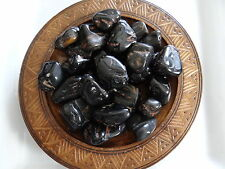ONYX, BLACK 1/4 Lb Stone Gemstone Tumbled Wiccan Pagan Metaphysical