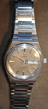 Men's Omega Seamaster Automatic Day/Date, Stainless Steel, late '70's  Free Ship