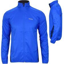 Reebok Herren Windjacke Sport Jacke Laufjacke Running Trainingsjacke blau S-XXL