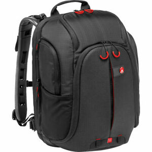 Manfrotto Multipro-120 Pro-Light Camera Lens Flash Tripod Laptop Backpack