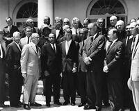 1963 MARTIN LUTHER KING JR & ROBERT KENNEDY Glossy 8x10 Photo Civil Rights Print