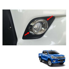 Fog Lamp Light Cover Chrome Trim To Toyota Hilux Revo SR5 M70 UTE 2015 16 2017