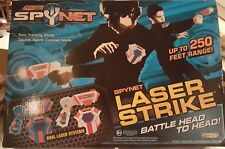 Spy Net Laser Strike Dueling System Laser Tag Two Guns Spynet Game w/ Box