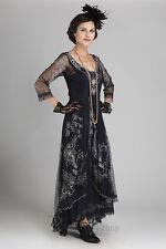 Nataya Downton Abbey Embroidered Wedding Dress, 40163 Sapphire Sizes S-3X