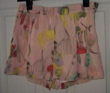 H&M Polyester Floral Mid Rise Shorts for Women