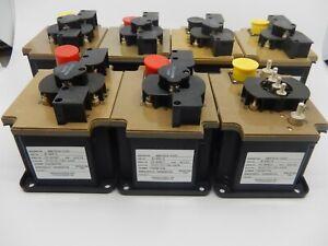 8x Surplus Hartman Electrical B-465-2 Power Contactor 6110-01-192-2428