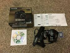 Fujifilm FinePix S Series S1800 Digital Camera w/Manuals, Memory Card, Batteries
