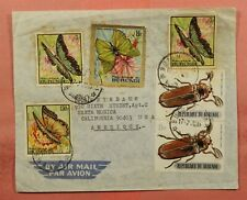 1971 BURUNDI ANIMALS FRANKED AIRMAIL BUJUMBURA TO USA