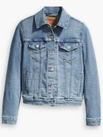 Levi's Original Trucker Denim Jacket Jeanie Medium Wash Blue XS S M L XL BNWT