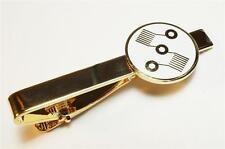 Vape Vaporizer Dual Coil OHM Oil Pen Symbol Suit Vest Wedding Work Tie Bar Clip