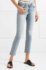 "rag & bone Torst Dre capri skinny jeans frayed cropped hem sz.28(waist 31"") NWT"