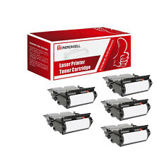 Remanufactured 12A6735 5PK HY For Lexmark Made in USA Toner For T520 X520 X520