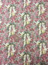 Age Of Innocence Jorgenson 100% Cotton Quilting Fabric Benartex Dove Floral 294
