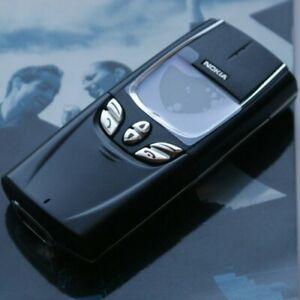New Nokia 8850 Black Mobile Phone GSM900/1800 Unlocked Full box warranty