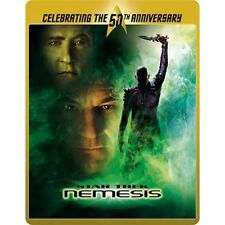 Blu Steel 4 U Star Trek Nemesis 50th Ann Limited Edition Steelbook