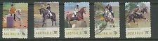 Australian Stamps: 2014 Equestrian Events - Set of 5 P&S - Used