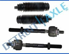 New 4pc Front Inner Tie Rod Ends + Boots for Infiniti G35 & Nissan 350Z