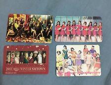 KPOP SNSD GIRLS' GENERATION FANMADE PHOTOCARD TAEYEON SEOHYUN YURI SOOYOUNG