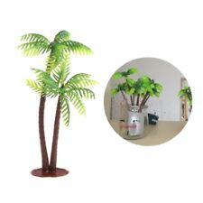 Mini Scenery Landscape Model Simulation Coconut Palms Tree Ornaments Home Decor
