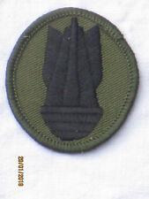 Explosive Ordnance Disposal Personnel,EOD, schwarz/oliv,Royal Engineers,TRF
