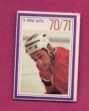 RARE 1970 CANADIENS FRAN HUCK ESSO STAMP  (INV# A7782)