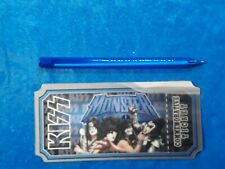 KISS MONSTER OFFICIAL VIP PACKAGE COMMEMORATIVE TICKET  -   SIMMONS STANLEY