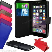 For APPLE IPHONE 6 & 6 plus Premium Leather Magnetic Flip Wallet Case Cover