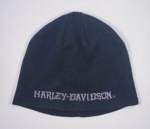 Harley Davidson black beanie cap one size RN103819 An American Legend
