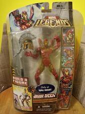 "IRON MAN Heroes Reborn Hasbro Marvel Legends action figure 6"" Ares Series NIP"