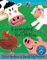 Farmyard Hullabaloo! (Orchard Picturebooks) by Giles Andreae, NEW Book, FREE & F