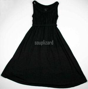 New Women's Maternity Clothes Short Dress Black NWT Liz Lange Size Medium